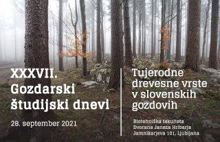 37 gozdarski študijski dnevi